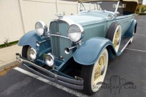 1931 Lincoln K Model 203 Sport Phaeton - Great Tour Car!