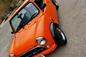 1987 AUSTIN MINI MAYFAIR ORANGE