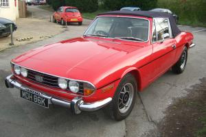 TRIUMPH STAG CONVERTIBLE  Photo