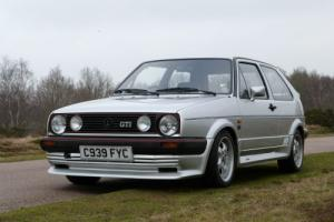1986 VOLKSWAGEN GOLF 1.8 GTI, ONE OWNER AND JUST 52000 MILES