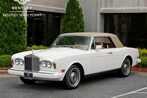 1985 Rolls Royce Corniche Base Convertible 2-Door 6.7L