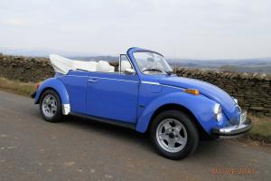 Classic Karmann Beetle Convertible for sale.