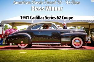 1941 Cadillac 6227D coupe frame-off restoration