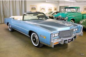 IMMACULATE ELDORADO CONVERTIBLE - ICE COLD A/C - 6 DISC - PWR SEATS - CRUISE CON