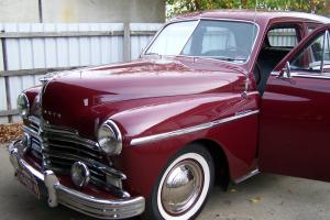 1949 Plymouth Sedan Left Hand Drive