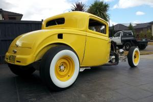 1932 3 Window Coupe Hotrod Custom  Photo
