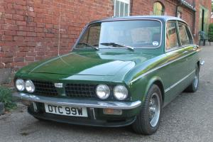 Triumph Dolomite Sprint 1980 sports GT saloon classic car
