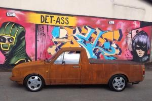 VW CADDY MK1 PICK UP RAT EURO DUB RUSTY FULL MOT 6 TAX G60 REAR SLIDING WINDOWS