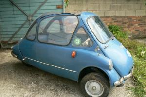 1965 Heinkel / Trojan Cabin Cruiser (Bubble Car) Right Hand Drive. Rare  Photo