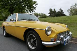 MGB GT CHROME BUMPER - IMMACULATE CAR WITH MANY UPGRADES