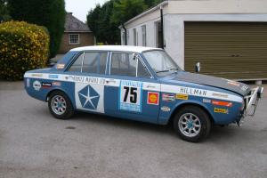 HILLMAN HUNTER RALLY REPLICA