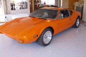 1974 DEMATOSO PANTERA ORANGE PEARL