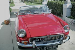 Award Winning 1969 MGB MKII Roadster Photo