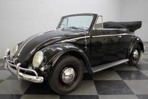ULTRA-RARE CONVERTIBLE, COMPREHENSIVLY RESTORED, 1200CC FLAT-FOUR, 12-VOLT ELECT