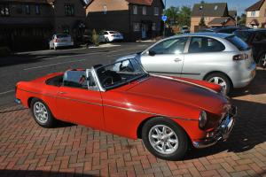 MGB Roadster ORANGE  Photo