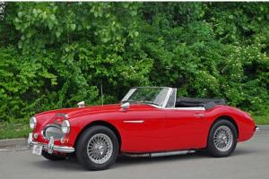 1967 Austin Healey 3000 MKIII BJ8 Extensive Restoration Chrome Wires Overdrive