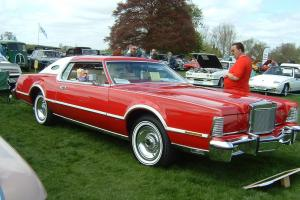 LINCOLN MARK 4 VERY RARE RED LIPSTICK EDITION,1976,1 OF 1 IN UK, 1 OF 50 W/WIDE