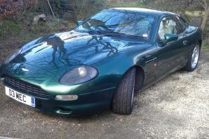 ASTON MARTIN DB7 i6 SUPERCHARGED 3.2 Manual 1997 Chiltern Green very nice