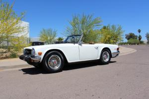 1976 Triumph TR6 Roadster Rust Free Documented History Must See!!!