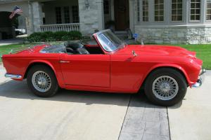 1963 Triumph TR4 Convertible With Wire Wheels Photo