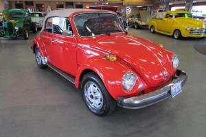 1979 VW Beetle Convertible 16,224 Actual Miles 1.6L Fuel Injected