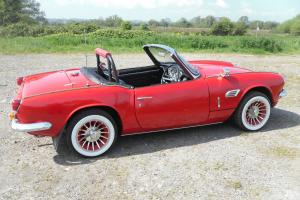 TRIUMPH SPITFIRE 1967 MK 3 RARE OVERDRIVE MODEL NEW MOT  Photo