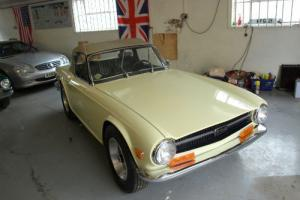 Triumph TR6 classic l/h/d californian brithish sports car 2 seater soft top tr  Photo