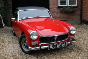 MG Midget 1973 round wheel arch  Photo