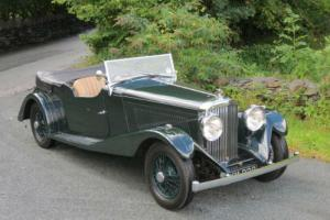 1935 Bentley 3 1/2 ltr VdP Style Sports Tourer B143CW  Photo