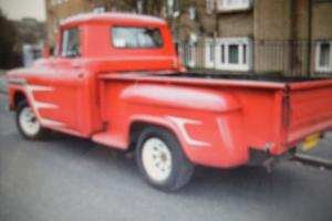 1958 chevy APACHE long bed truck
