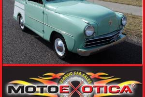 1950 CROSLEY WAGON, MAGAZINE FEATURED, HIGH QUALITY RESTORATION
