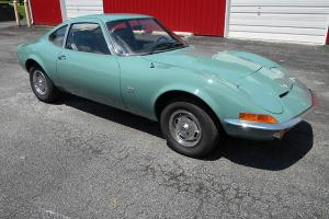 1970 Opel GT, Restored, 100 PICS, Ready for Fun, PA Inspected, 1.9 Liter 4 Speed Photo