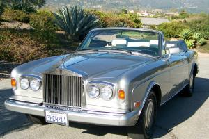 1988 Rolls Royce Corniche II Base Convertible 2-Door 6.7L