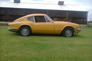 TRIUMPH GT6 1971 TAX EXEMPT