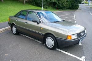 1988 (F) AUDI 80 1.8 S - 5 SPEED MANUAL - 4 DOOR SALOON - 1 OWNER - 56,000 MILES  Photo
