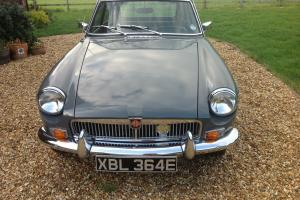 1967 MGB GT series 1 GHD chassis number...original engine