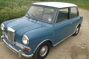 RILEY ELF MK3 1968 PERSIAN BLUE, NEW CLUTCH FITTED not Austin Mini