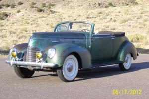 1939 Hudson model 92 convertible brougham extremly rare pre world war 2 survivor