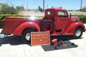 1940 Diamond T 201 Pickup Truck Photo