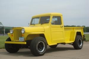 "1948 Willys Overland 4x4 Pickup ""AUTOMATIC"" Modern Conversation"