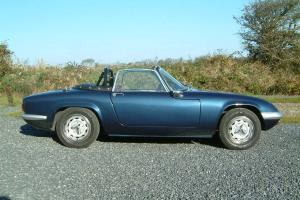 Lotus Elan Drophead Sprint Engine  Photo