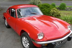 Triumph GT6 Mk 3 Red 1971  Photo