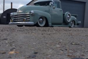 CHEVY PICK UP,1953 CALIFORNIAN IMPORT,AIRRIDE,LOTS OF CHROME
