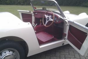 AUSTIN HEALEY SPRITE OLD ENGLISH WHITE - EXCELLENT CONDITION FROM BEAULIEU