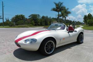 2002 / 1967 GINETTA G-20 PEARL WHITE/ RED LEATHER INTERIOR / 5-SPEED