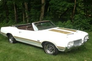 Real 1970 Oldsmobile 442 Convertible 455.