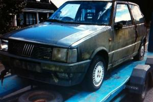 1986 FIAT UNO TURBO IE PROJECT COMPLETE RELISTED DUE TO TIMEWASTER