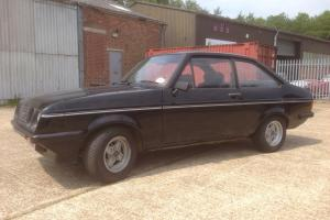 Rs 2000 Mk2 Escort , standard car with only 4 owners