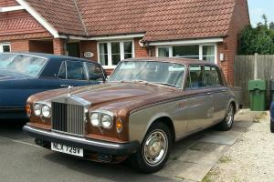 1980 ROLLS ROYCE BROWN/BEIGE