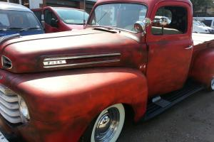 Ford Pick Up 1949 Red 5800cc